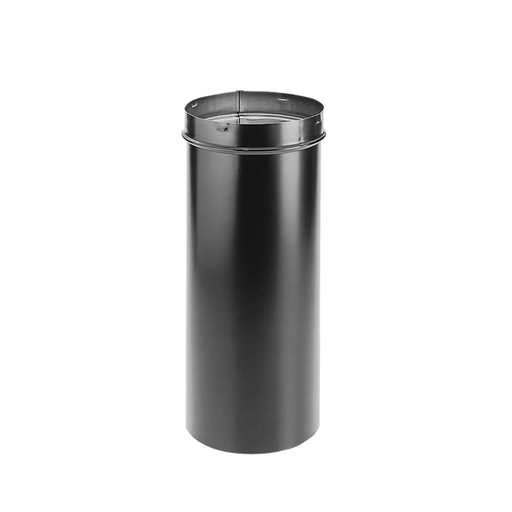 "DuraVent DuraBlack 10"" Diameter Black Slip Connector 