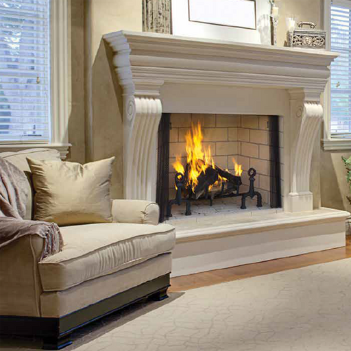 Superior 36 Inch Traditional Wood Fireplace | WRT6036