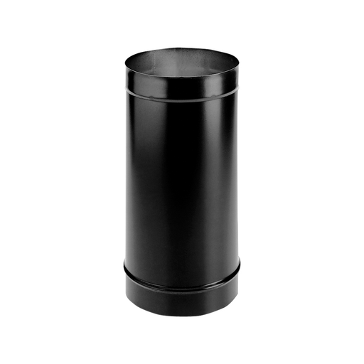 "DuraVent DB 10"" Diameter Single Wall Black 12"" Pipe Length 