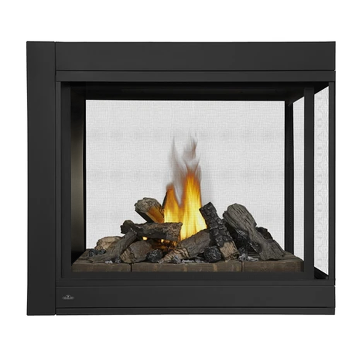 Napoleon Ascent BHD4 Peninsula Direct Vent Gas Fireplace | BHD4PGN