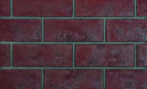 Napoleon Old Town Red Decorative Brick Panels for X 42 | DBPX42OS