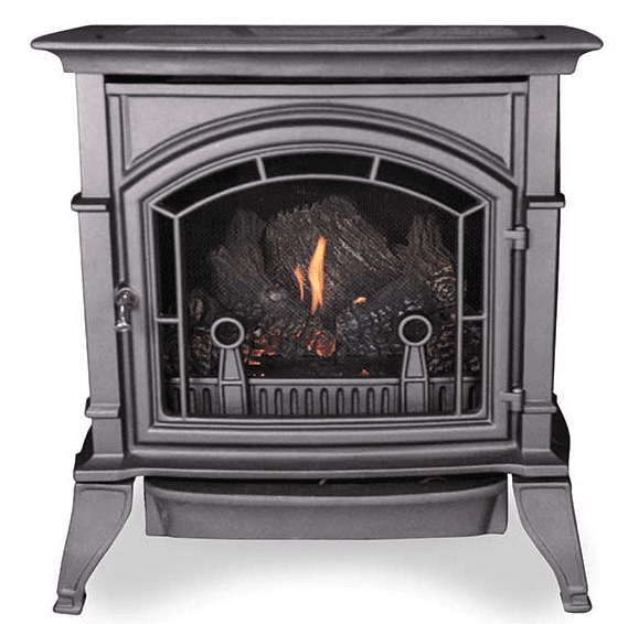 "Monessen Series 30"" Millivolt Vent Free Single Cast Stove 