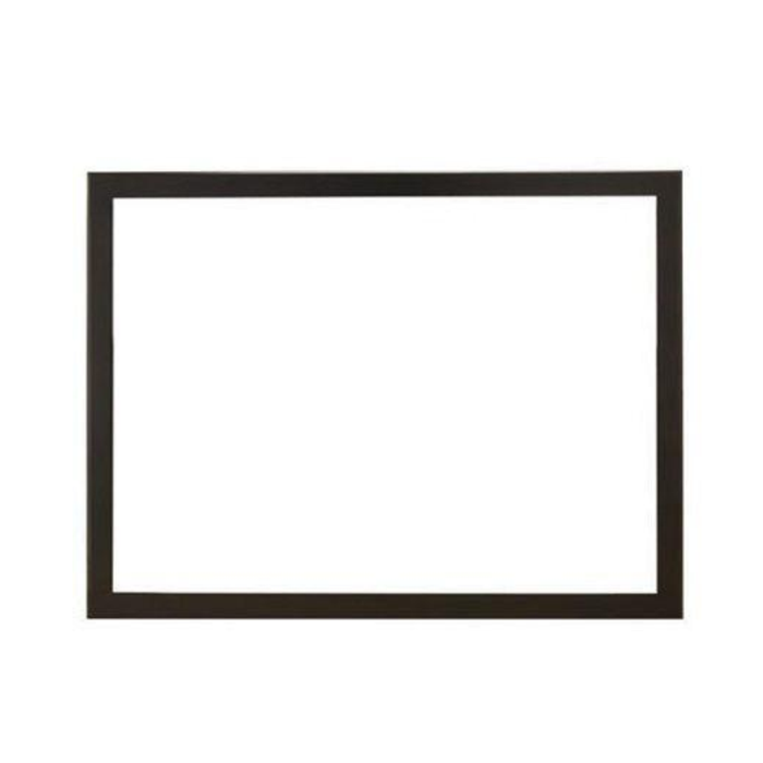 Empire 1.5-in. Brushed Nickel Rectangle,  for peninsula fireplace end | DF242NB |