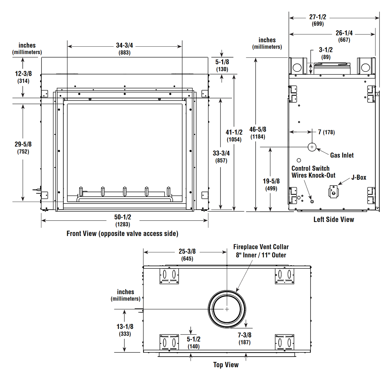 DRT63ST Technical Drawing 1