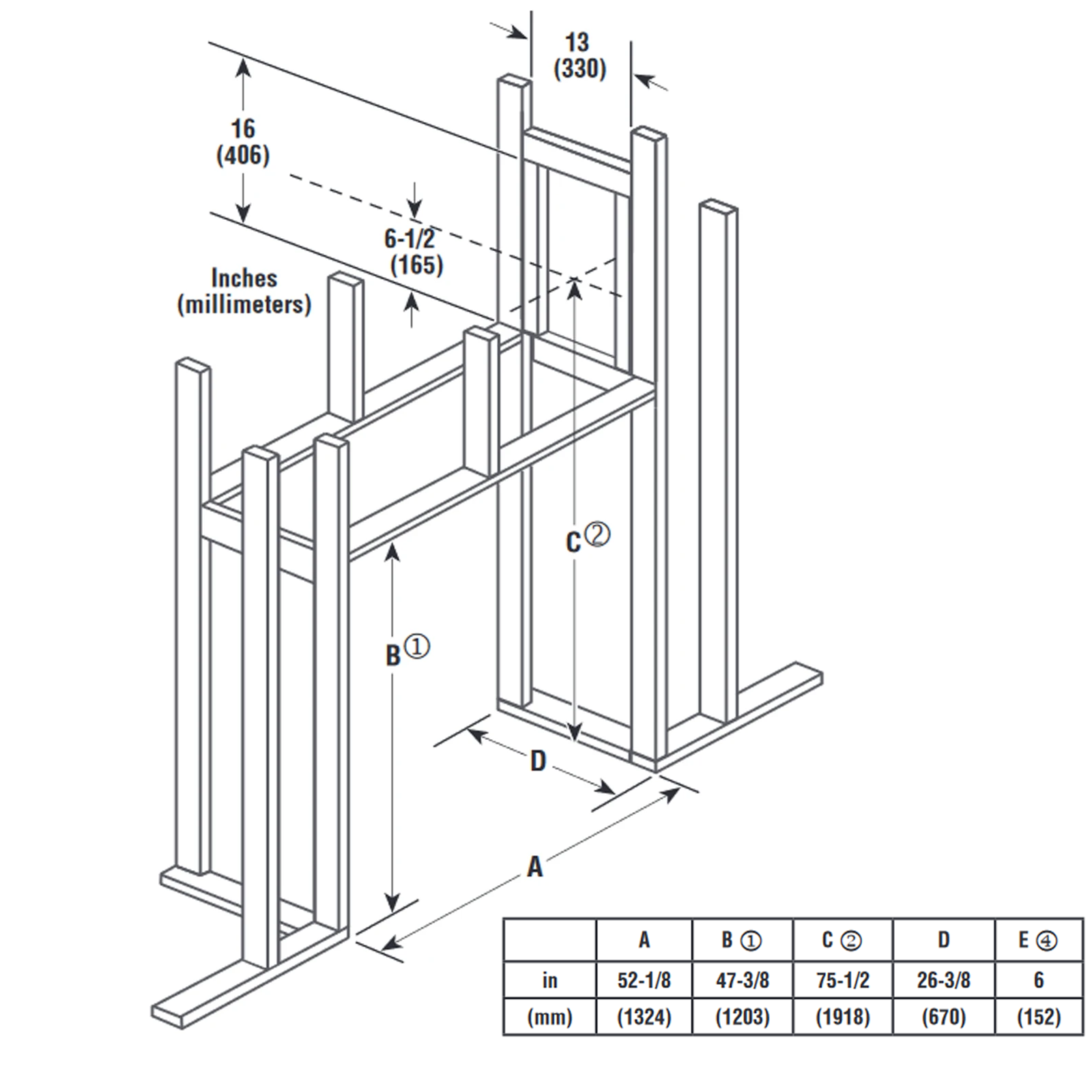 DRT63ST Technical Drawing 2