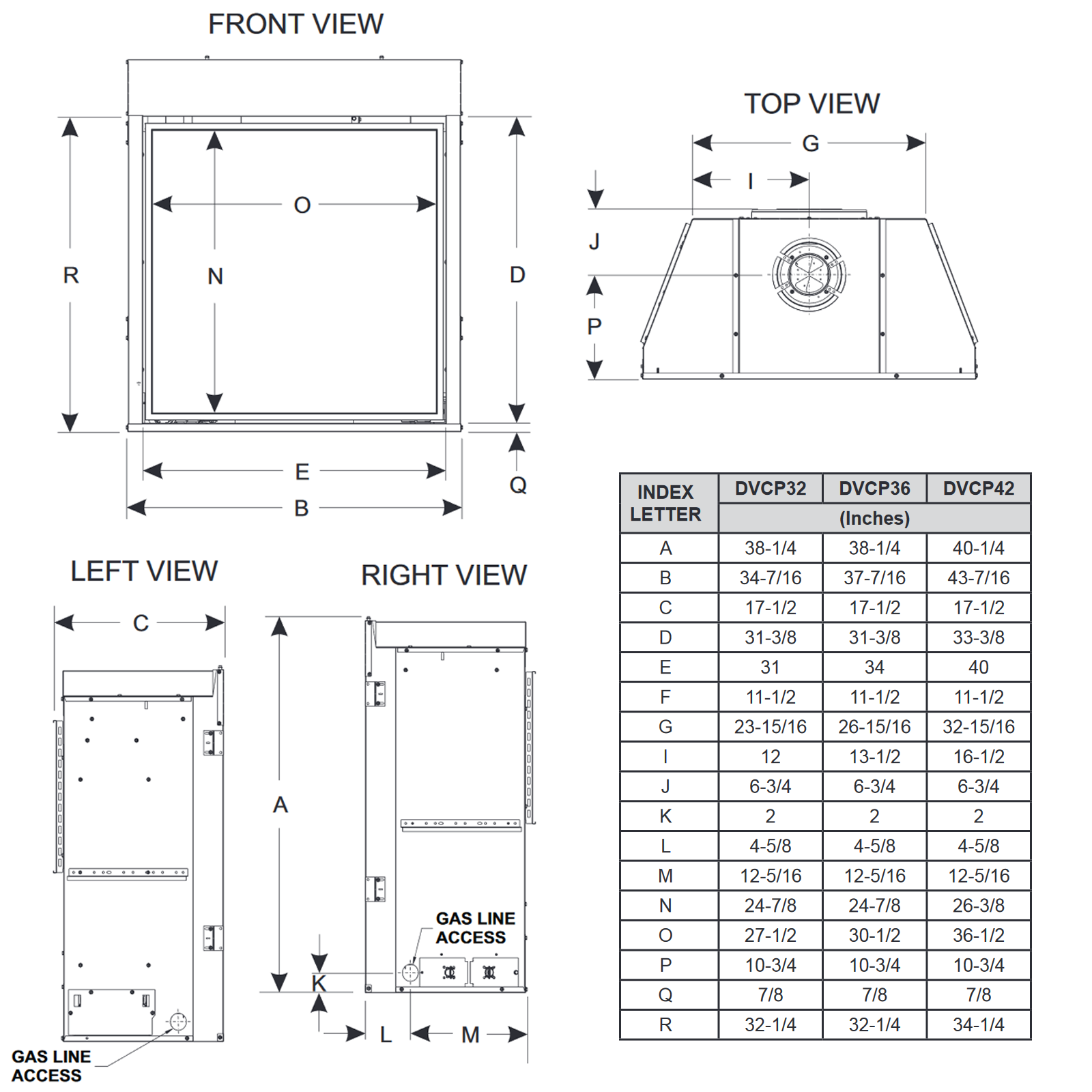 DVCP32 Technical Drawing 1