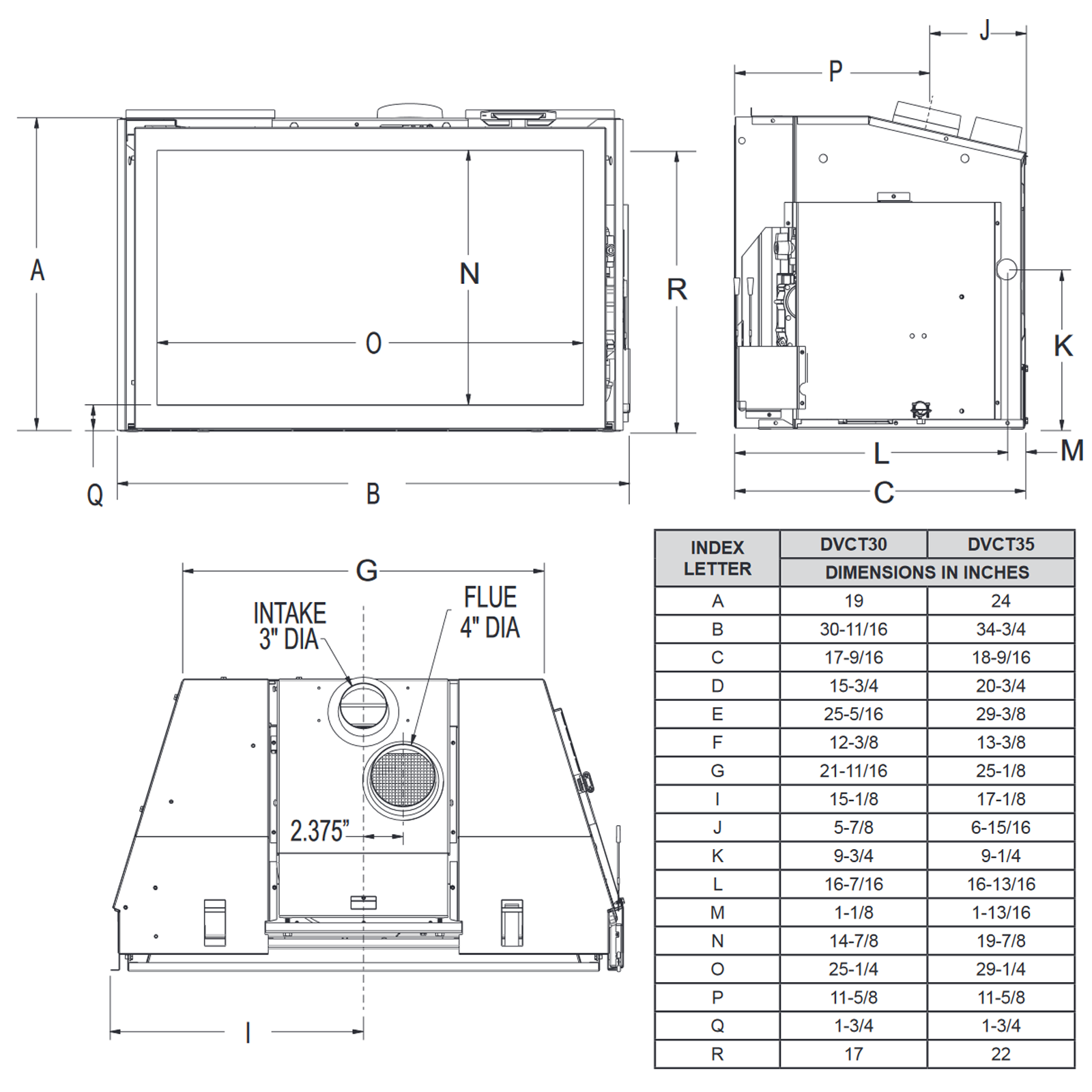 DVCT35 Technical Drawing 1