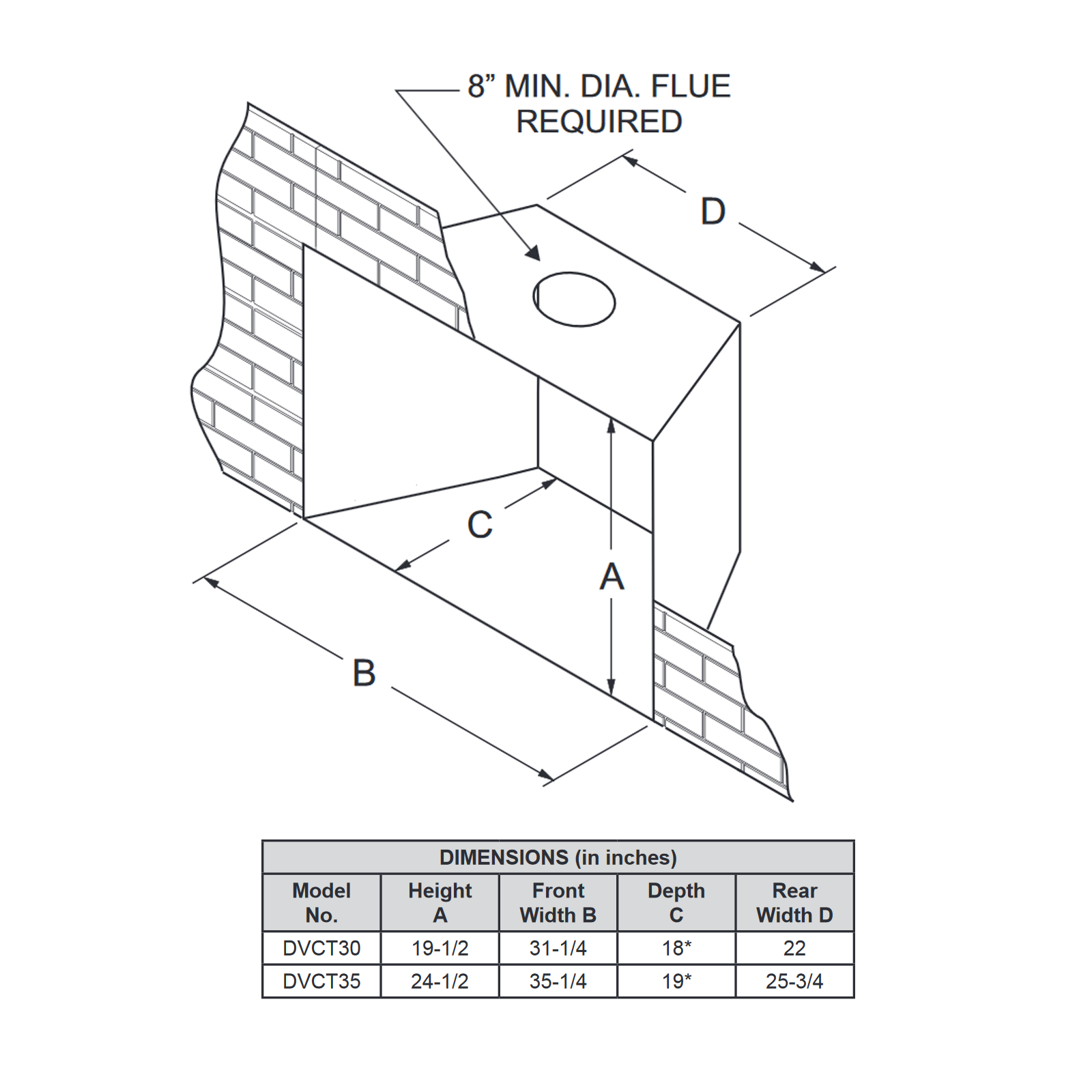 DVCT35 Technical Drawing 2