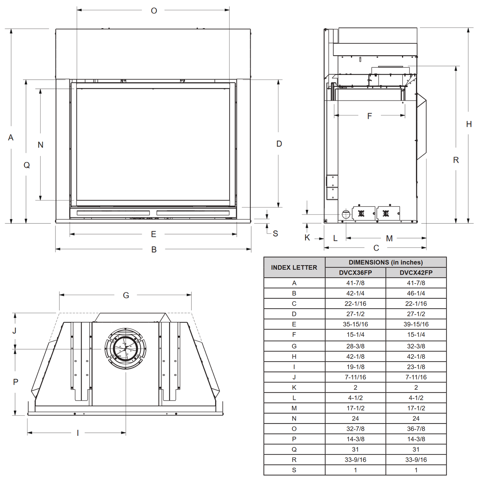 DVCX36 Technical Drawing 1