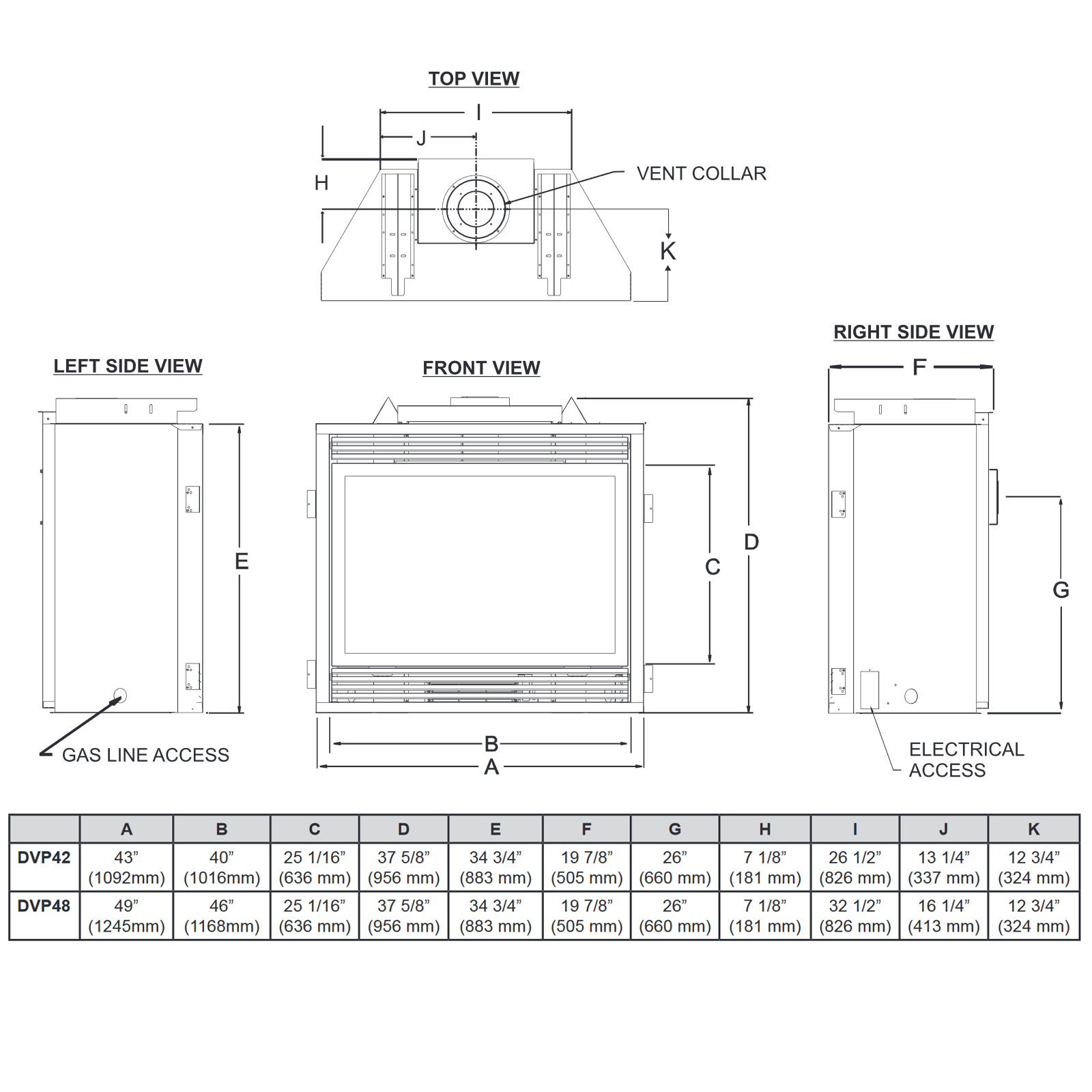 DVP42 Technical Drawing 1