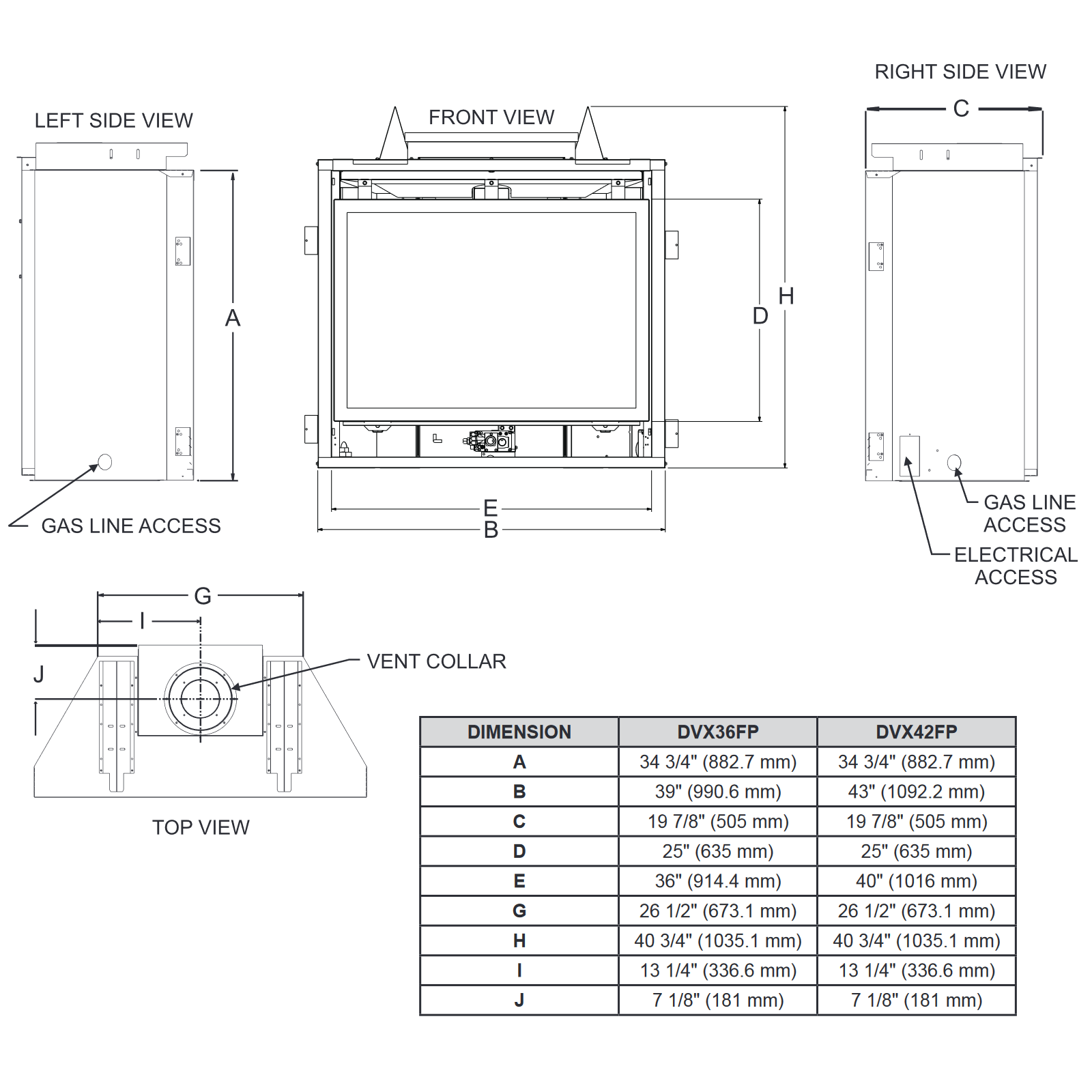 DVX36 Technical Drawing 1