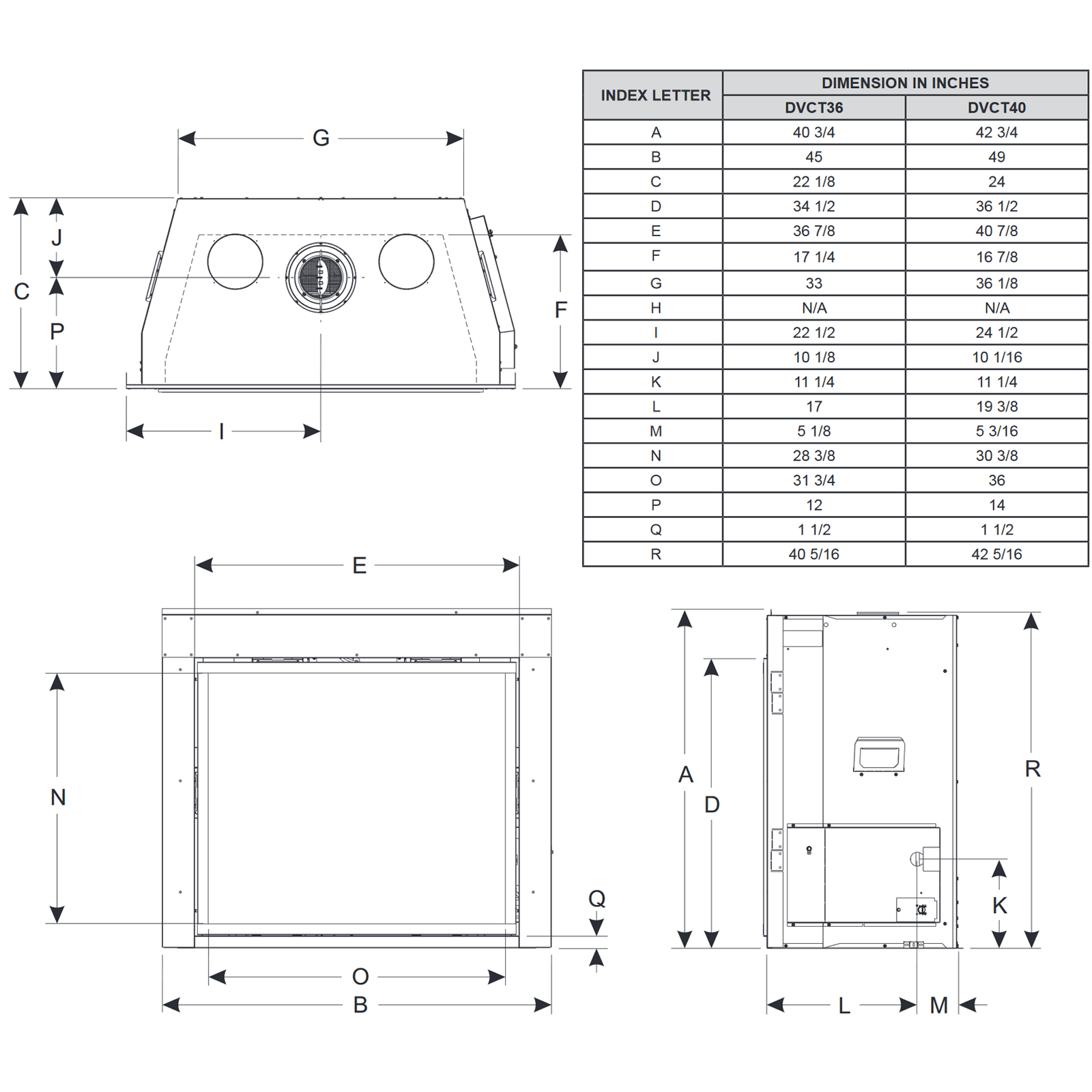 DVCT36 Technical Drawing 1
