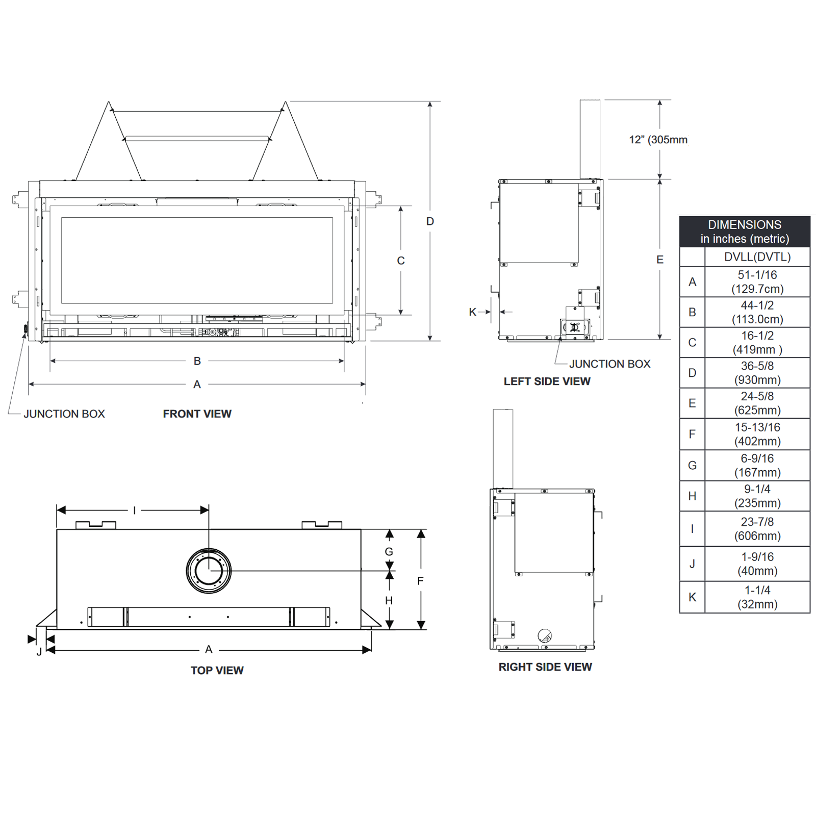 DVTL41 Technical Drawing 1
