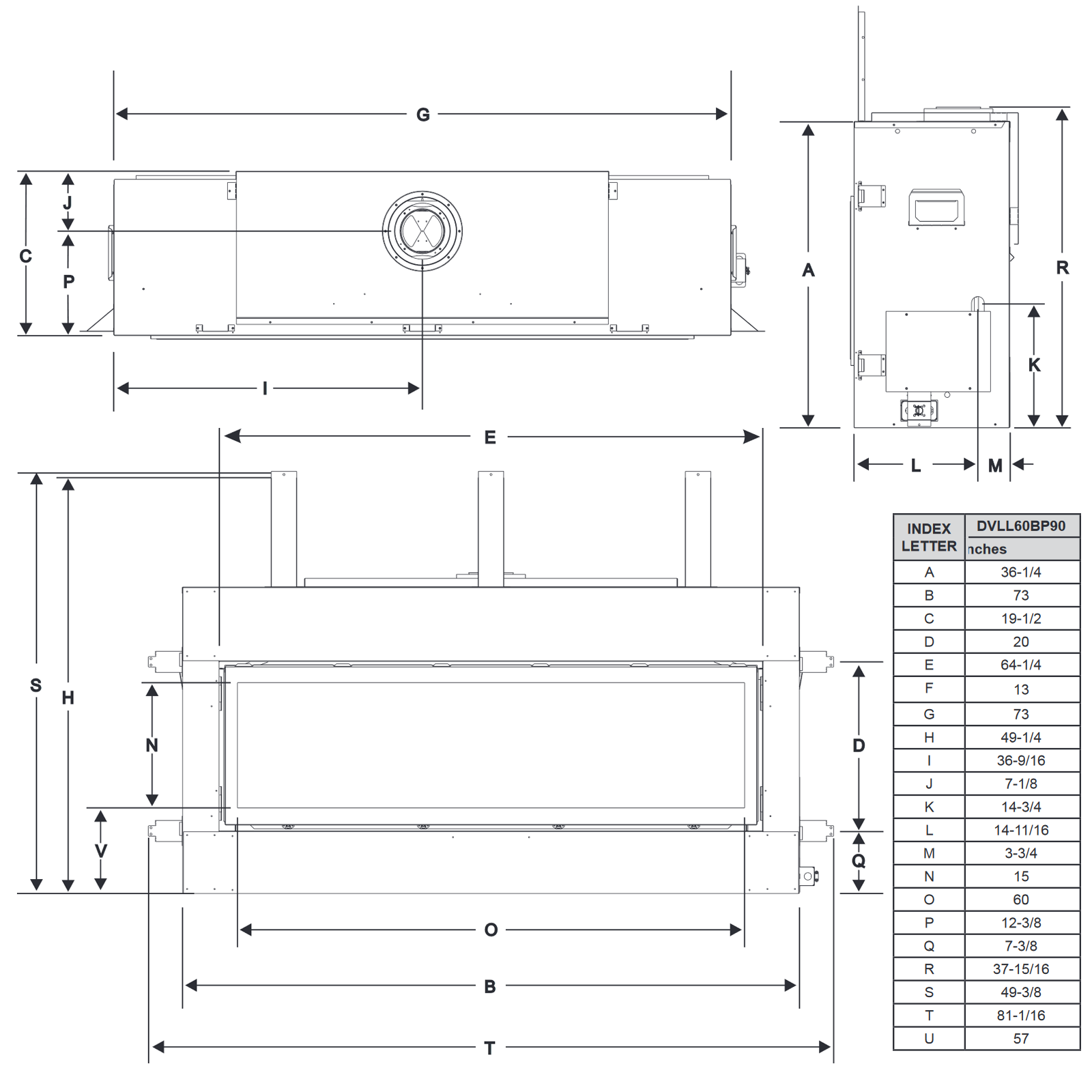DVLL60 Technical Drawing 1