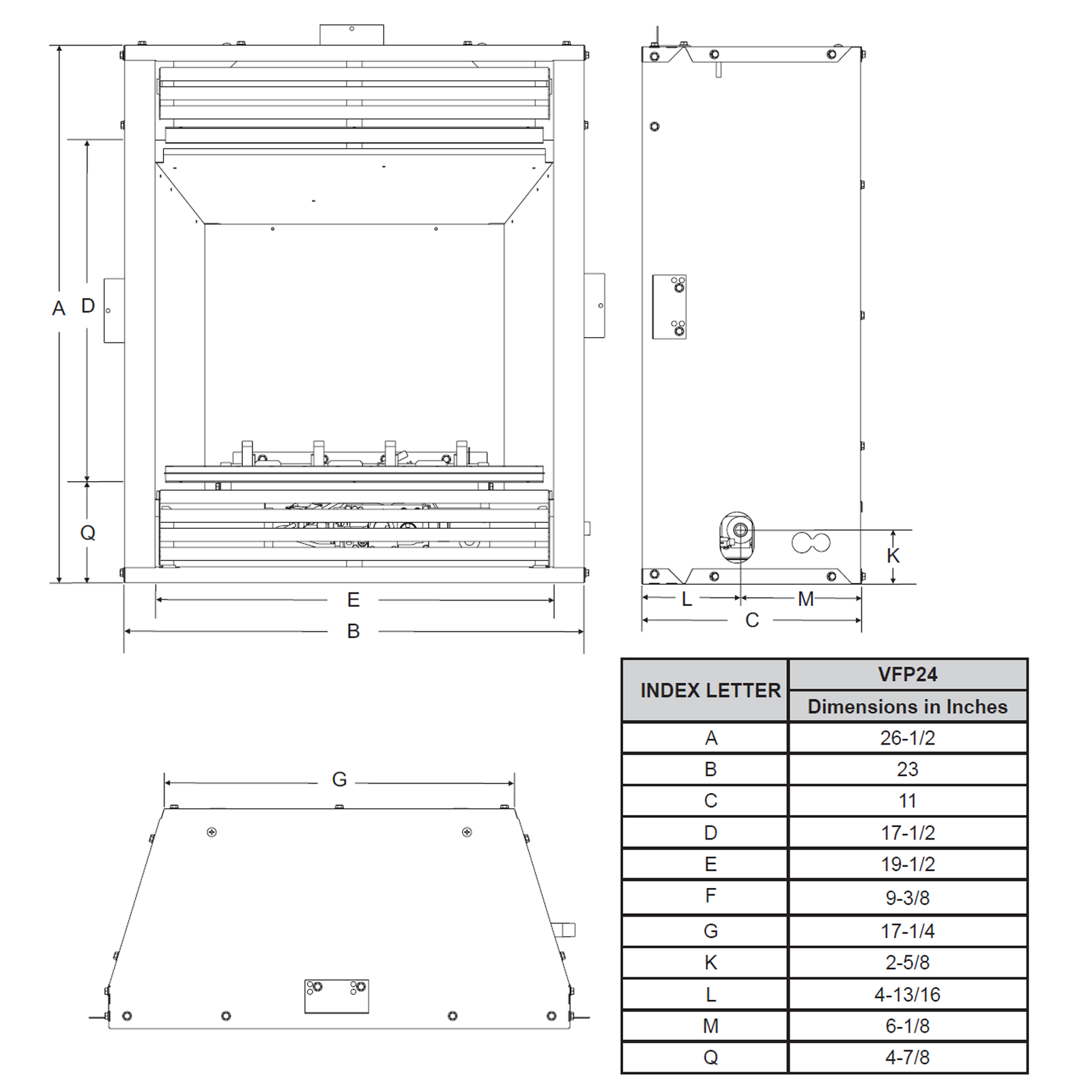 VFP24 Technical Drawing 1
