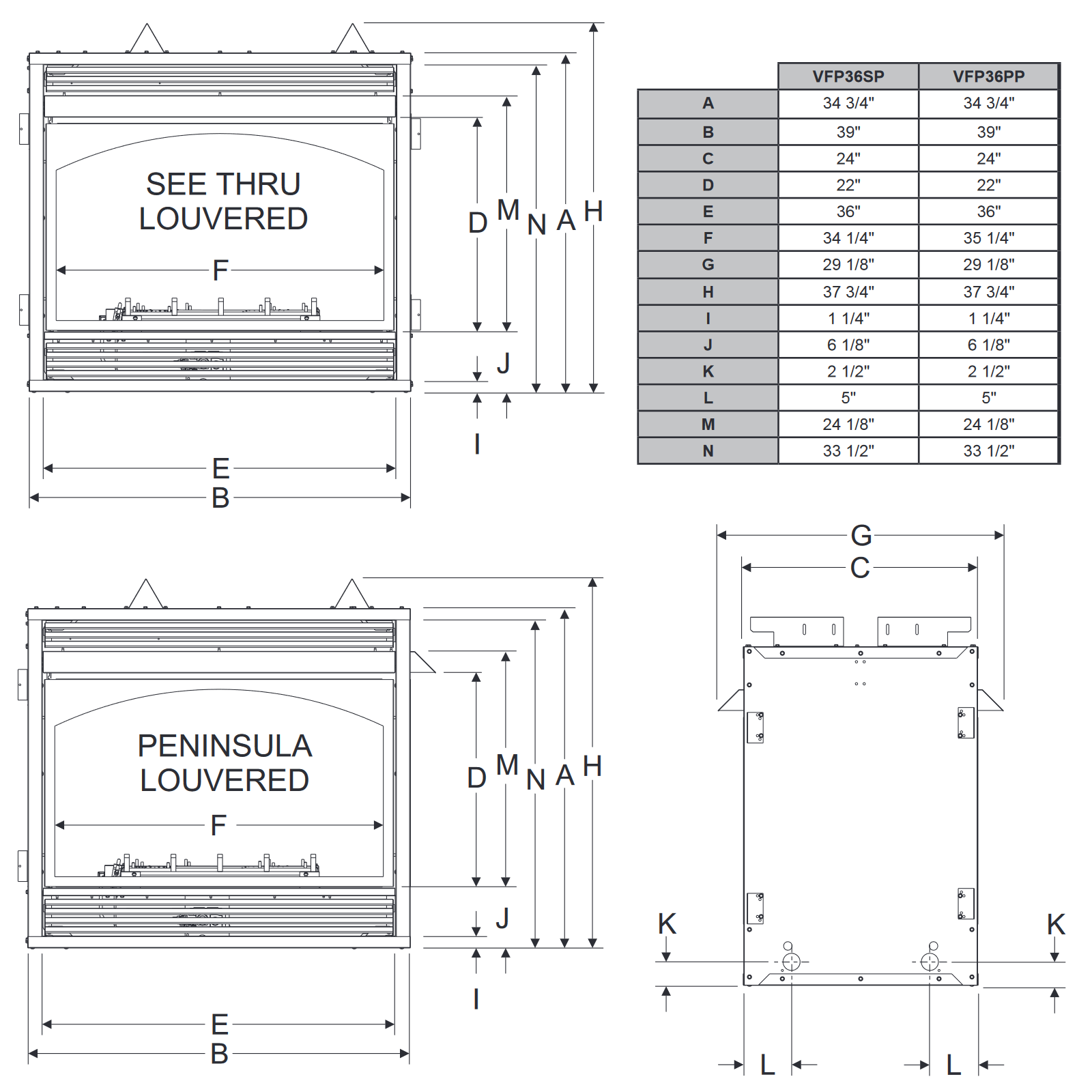 VFP36 Technical Drawing 1