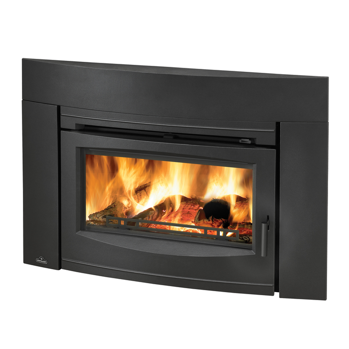 Napoleon Oakdale Painted Blk Contemporary Wood Burning Insert | EPI3C
