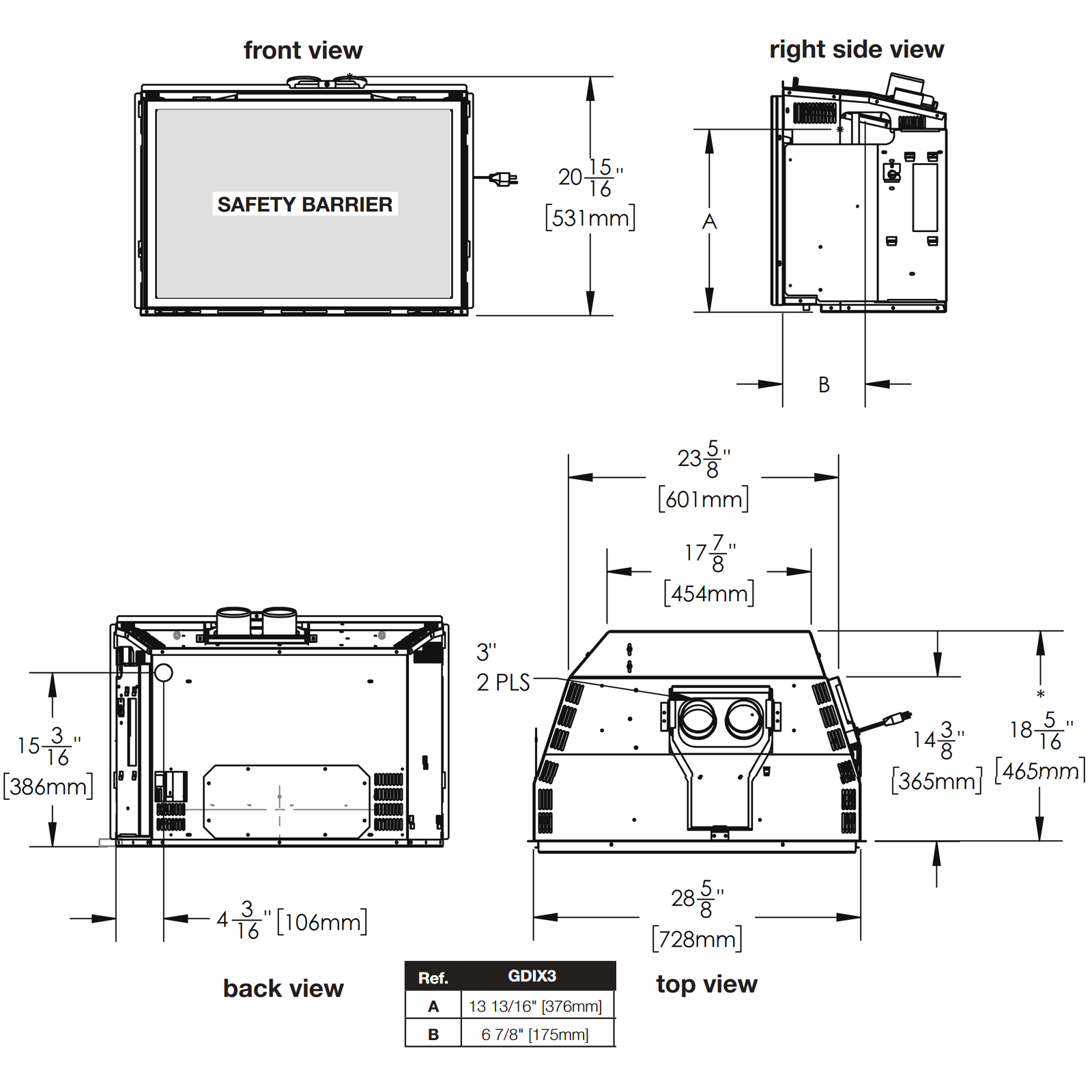 GDIX3N Technical Drawing 1