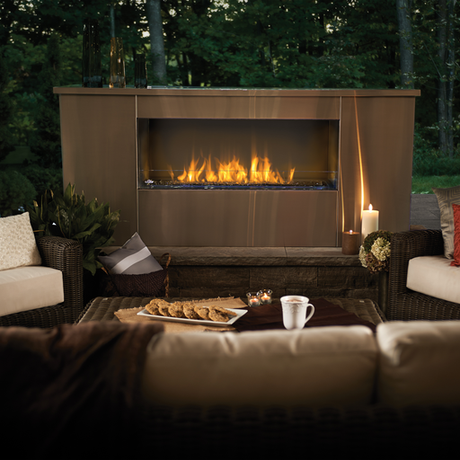 Napoleon Galaxy One-Sided Outdoor Gas Fireplace | GSS48