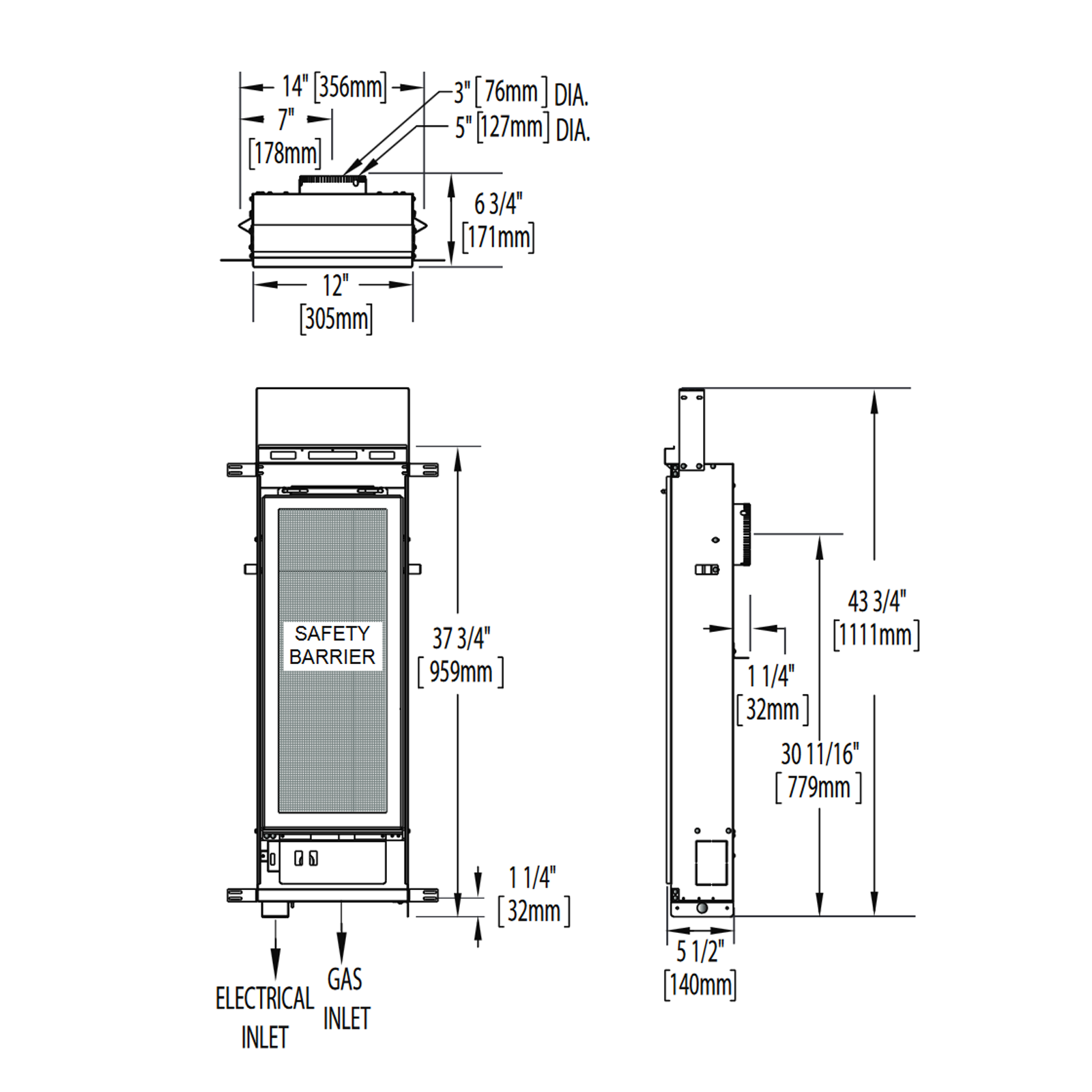 GT8N Technical Drawing 1