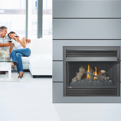 Napoleon Grandville GVF36 Vent Free Gas Fireplace | GVF36