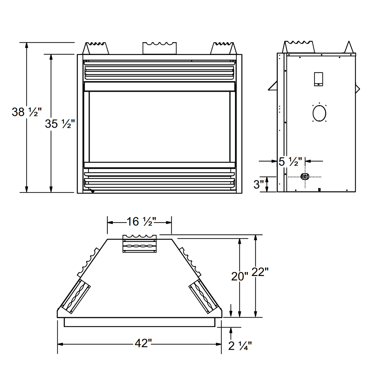 GVF42 Technical Drawing 1