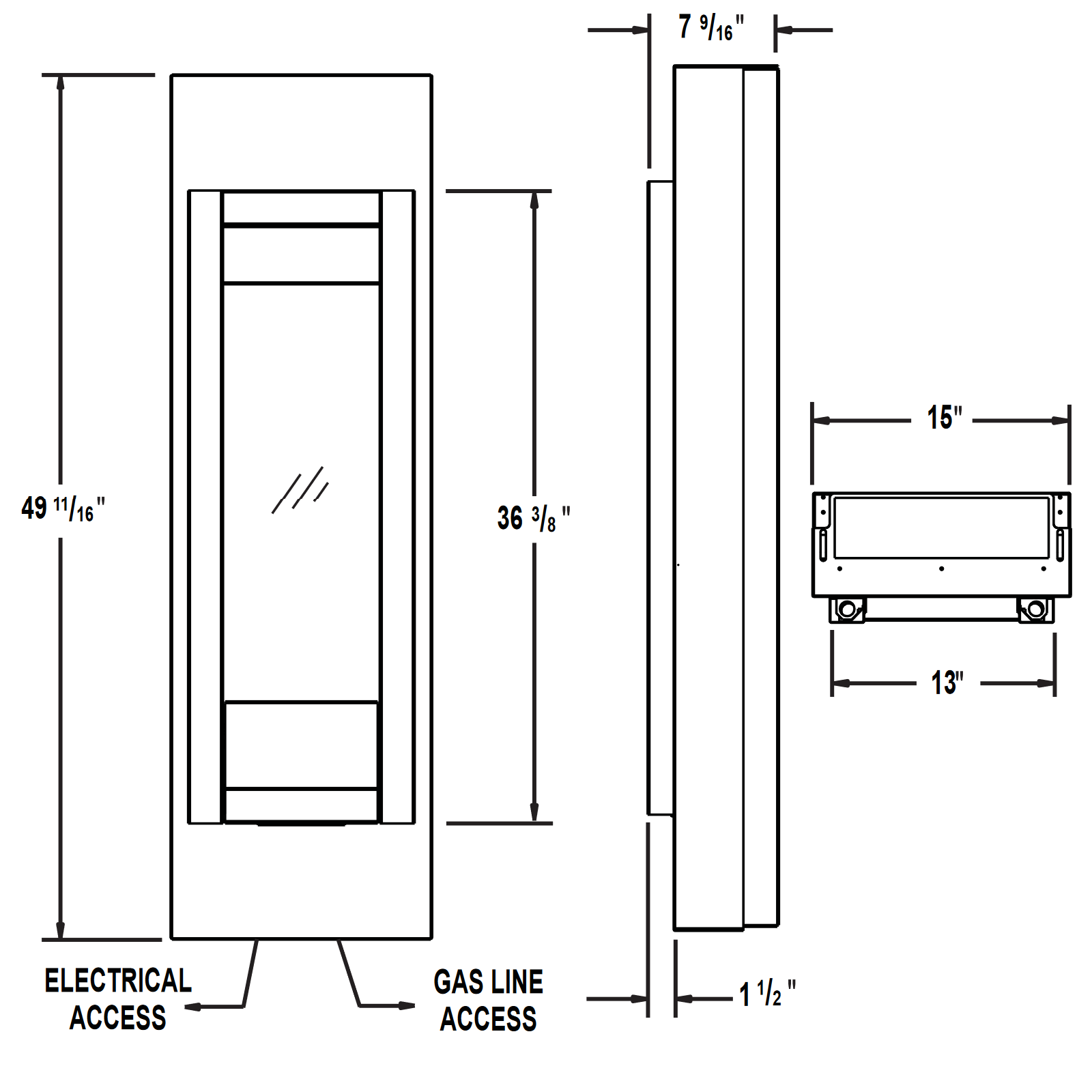 GVFT8N Technical Drawing 1