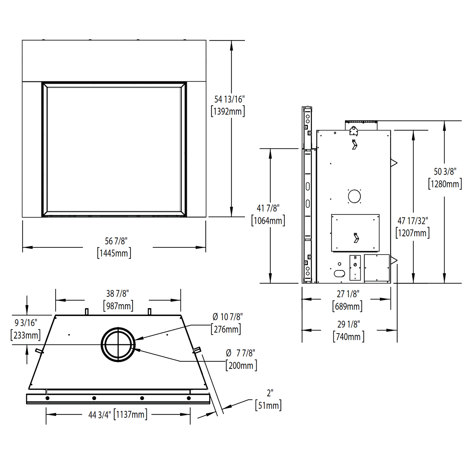HDX52 Technical Drawing 1