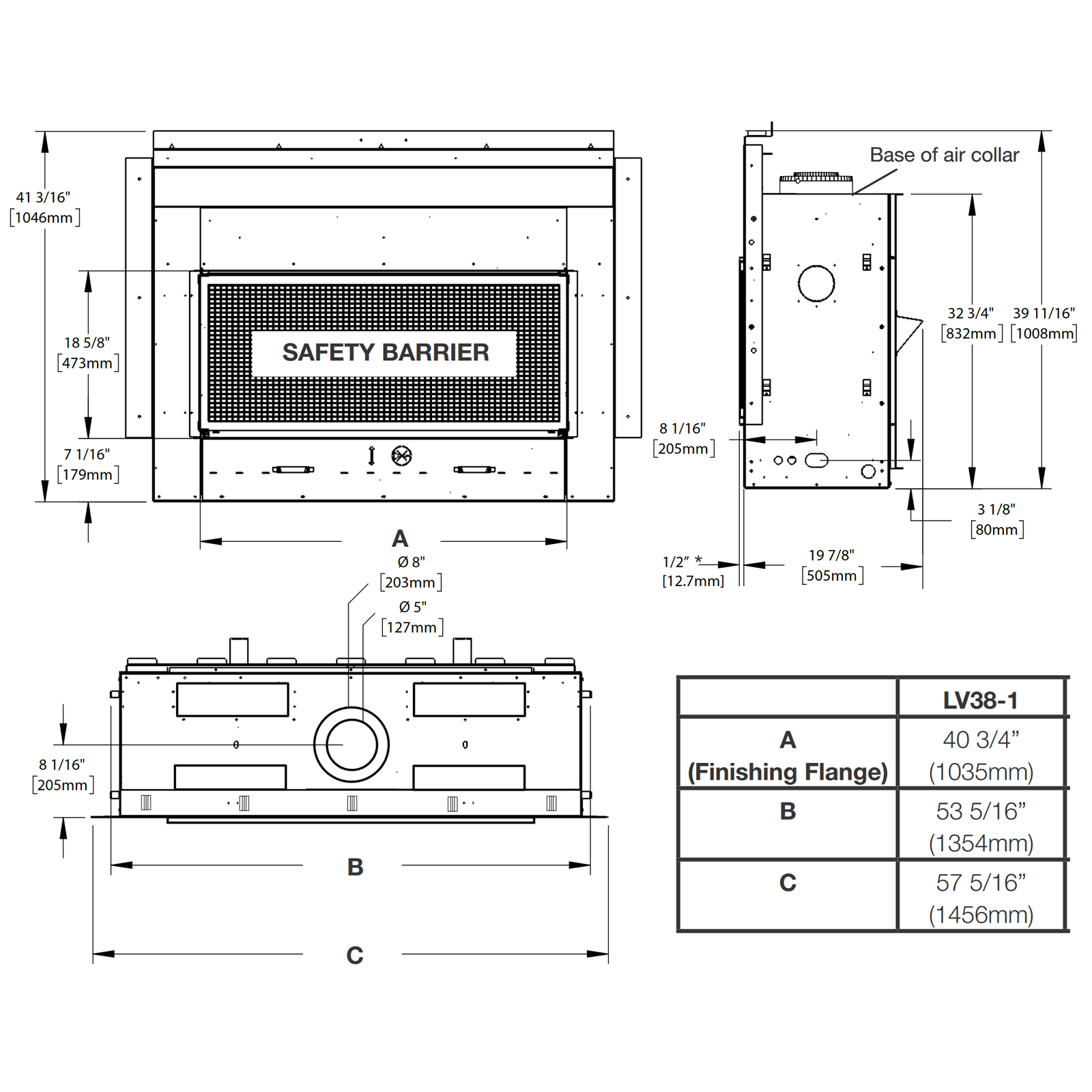 LV38 Technical Drawing 1
