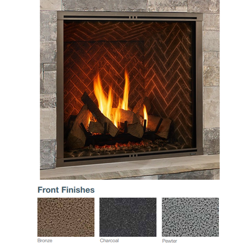 Majestic Pewter Firescreen Front for Marquis II 42 | FSMQ42PT