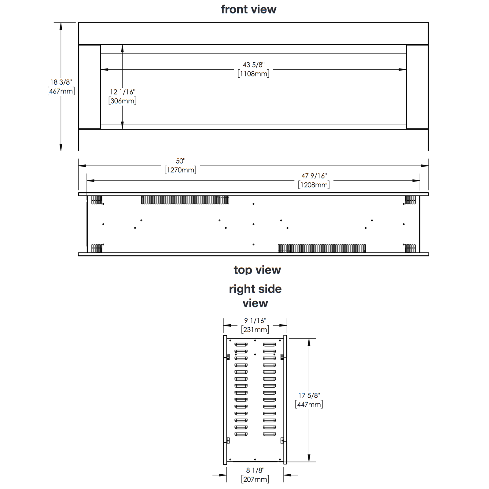NEFBD50 Technical Drawing 1
