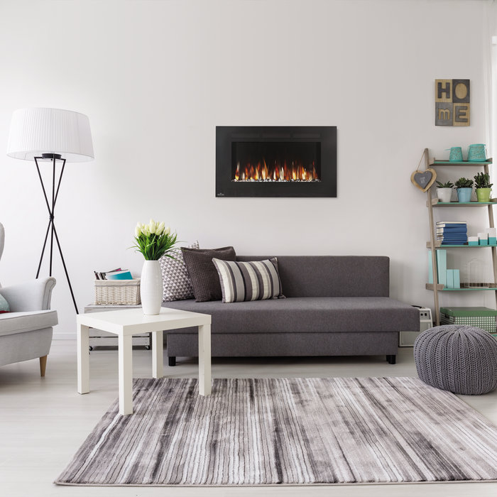 Napoleon Allure 42 inch Wall Mounted Electric Fireplace | NEFL42FH.
