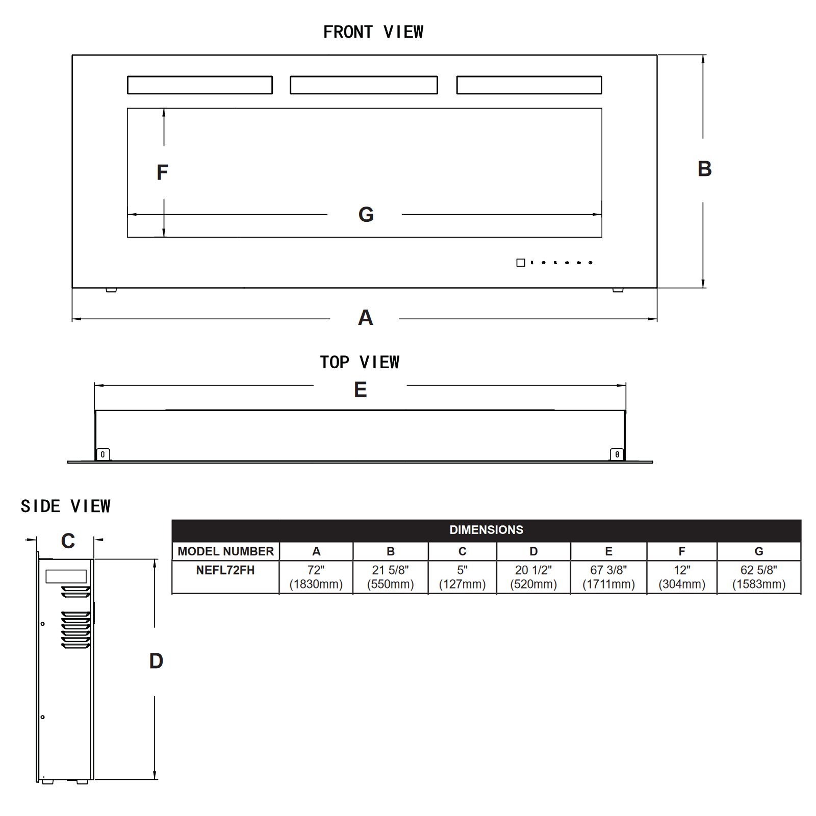 NEFL72 Technical Drawing 1