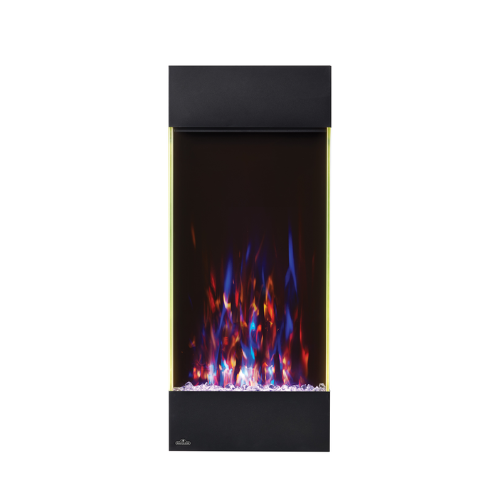 Napoleon Allure 38 Vertical Wall Hanging Electric Fireplace | NEFVC38H |