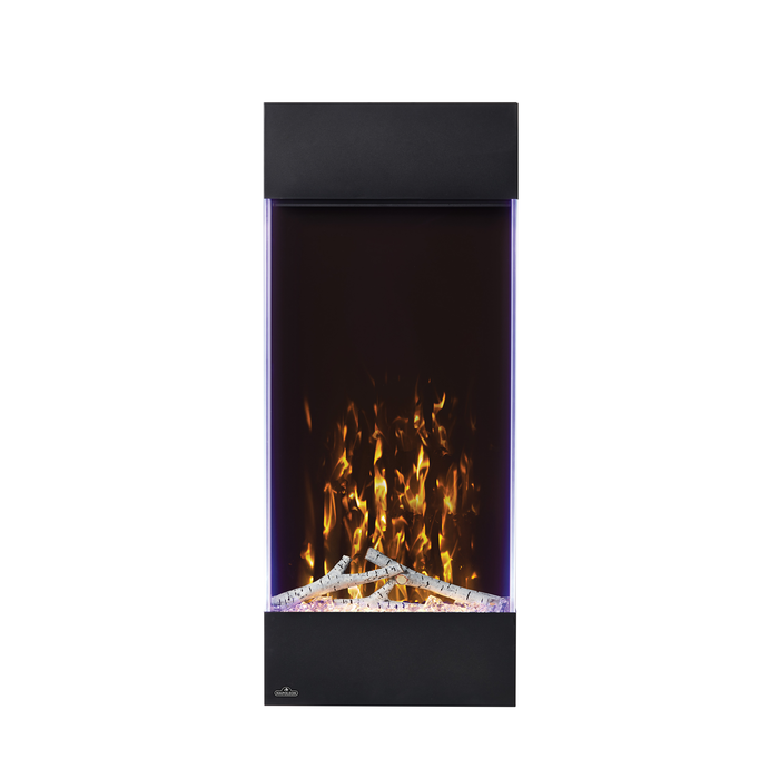 Napoleon Allure 38 Vertical Wall Hanging Electric Fireplace | NEFVC38H