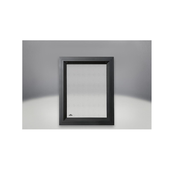 Napoleon Painted Black Rectangular Facing Kit with Safety Barrier | RFK82-1SB |
