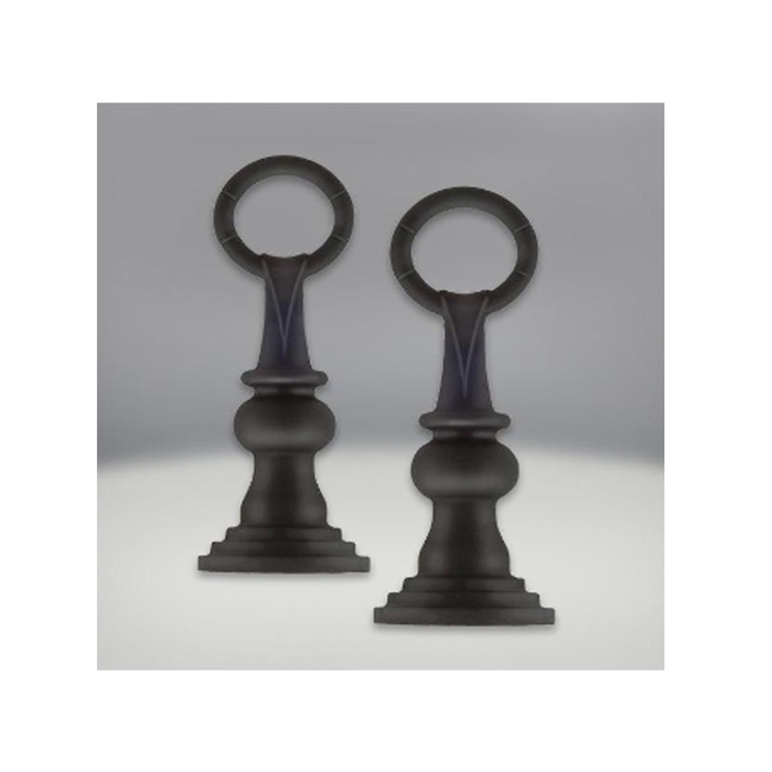 Napoleon Painted Black Traditional Andirons | ANIH |