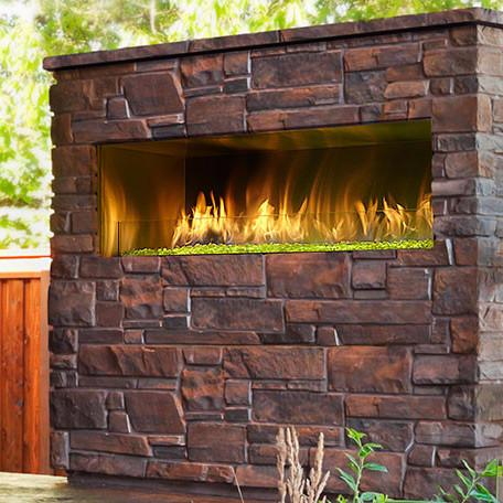 Majestic Palazzo ODPALG-48 Outdoor Linear Gas Fireplace