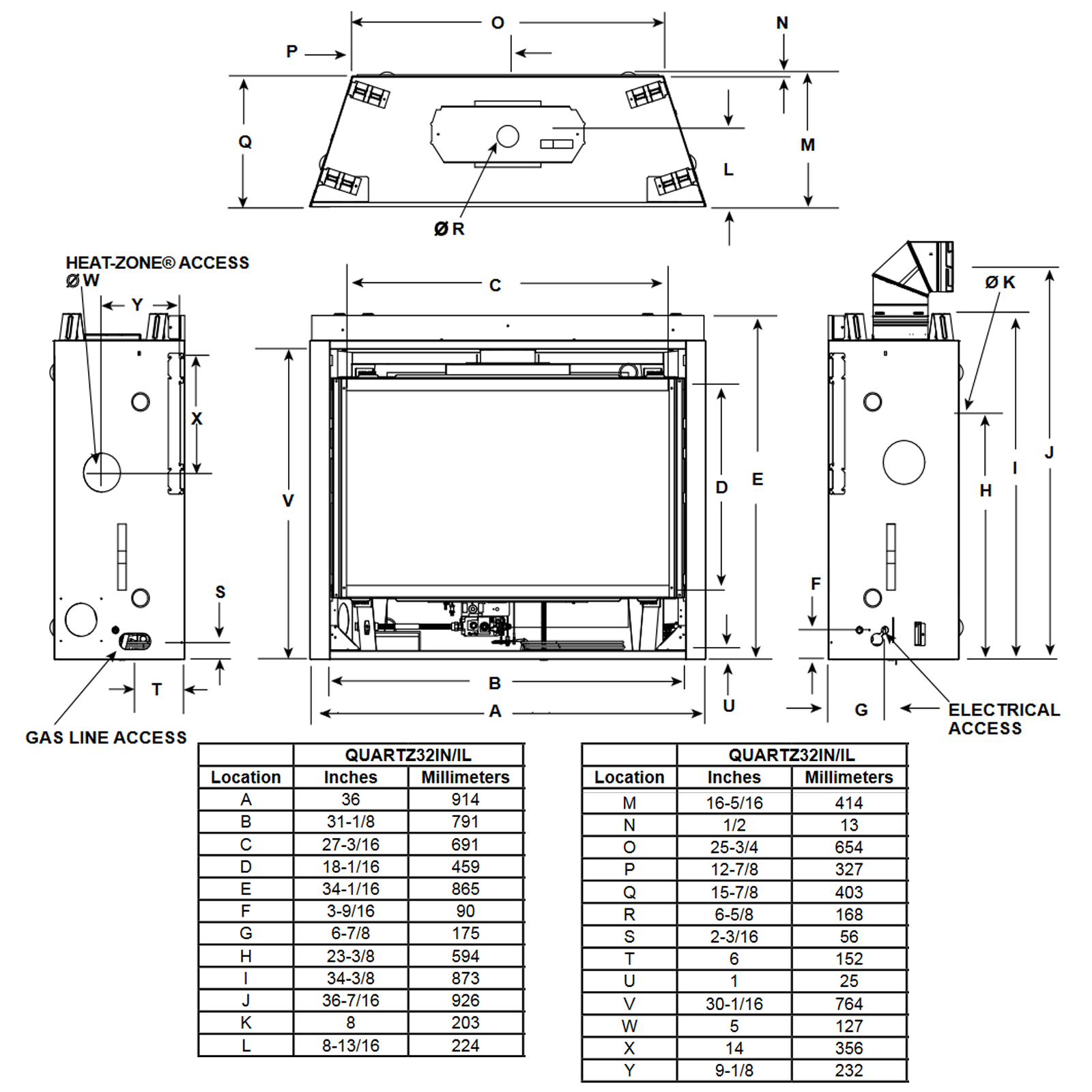 QUARTZ32 Technical Drawing 1
