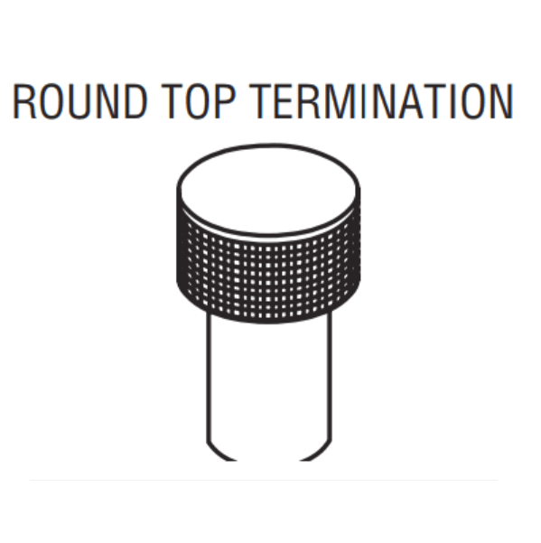 Superior Wood Burning Round Top Termination IHP | RTT-8DM