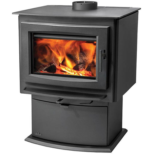 Napoleon S Series S1 Metallic Charcoal Small Wood Stove