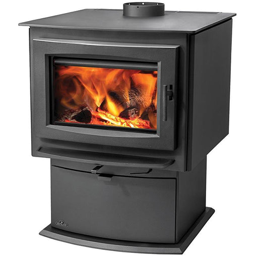 Napoleon S Series S4 Metallic Charcoal Medium Wood Stove