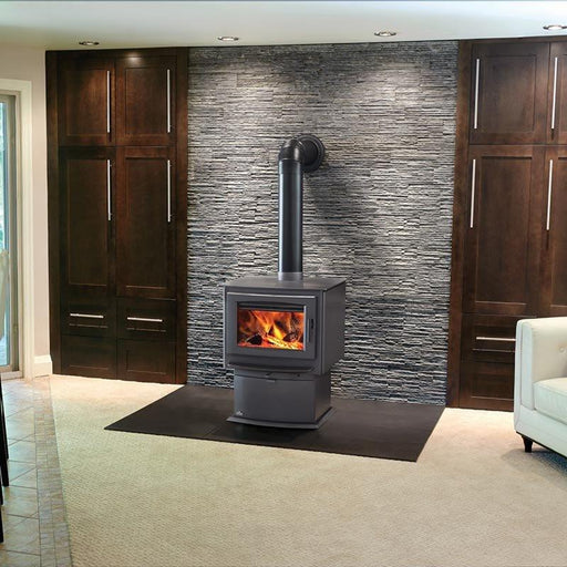 Napoleon S Series S9 Metallic Charcoal Large Wood Stove | S9