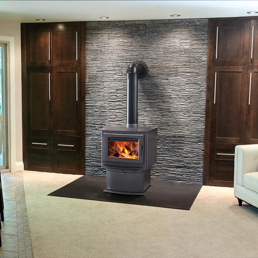 Napoleon S Series S4 Metallic Charcoal Medium Wood Stove | S4
