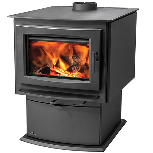 Napoleon S Series S9 Metallic Charcoal Large Wood Stove
