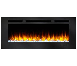 Simplifire Allusion 48 Wall Mounted Electric Fireplace Sf All48