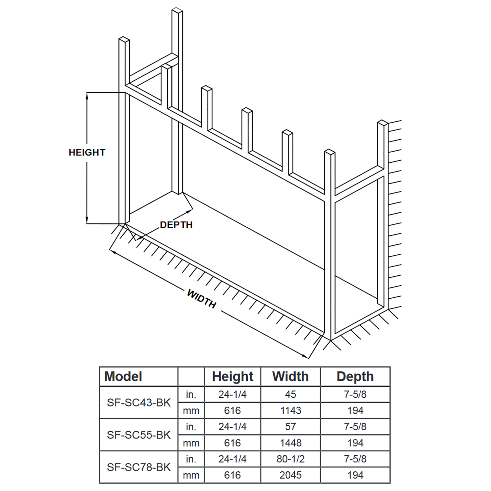 SF-SC43 Technical Drawing 2