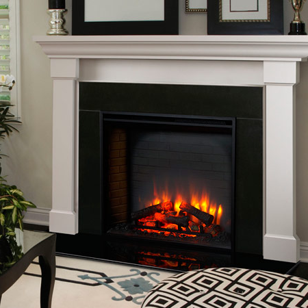 Monessen SimpliFire 30 inch Electric Built-In Fireplace | SF-BI30-EB