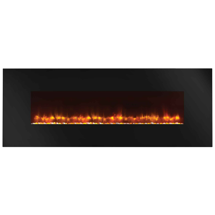 Monessen SimpliFire 58 Wall-Mount Electric Fireplace | SF-WM58-BK