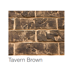 Majestic Tavern Brown Brick Interior Panels | BRICKMDVI35TB